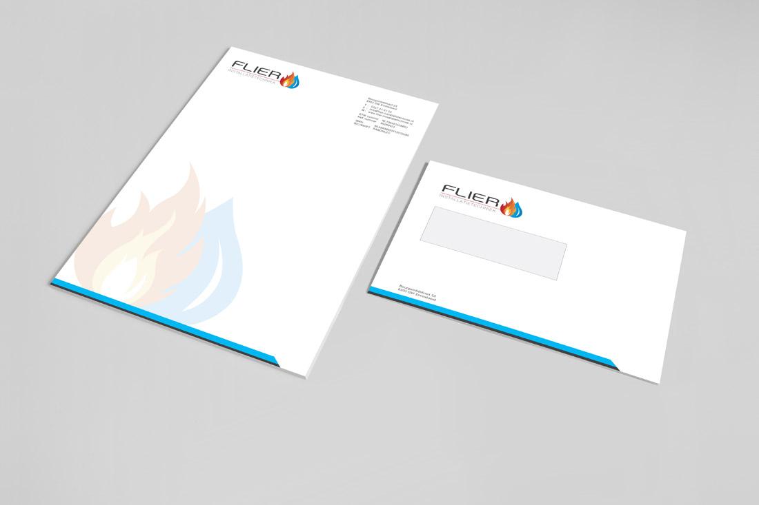 huisstijl-flier-installatietechniek-briefpapier-envelop