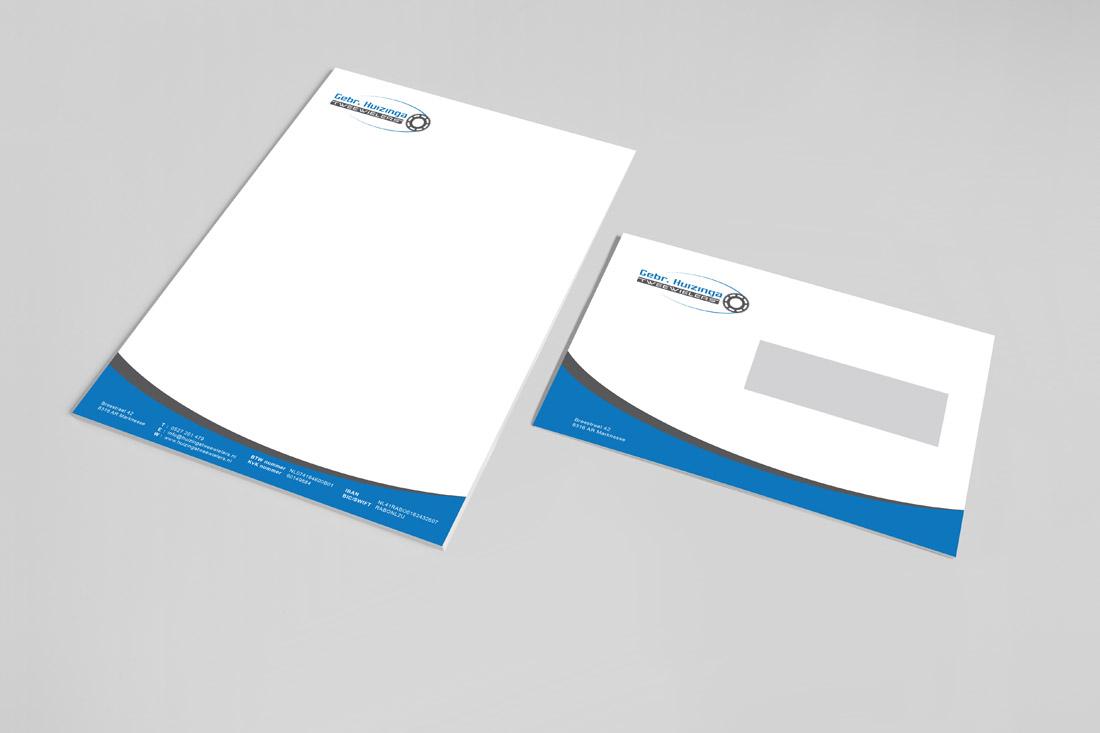 huisstijl-gebr-huizinga-briefpapier-envelop