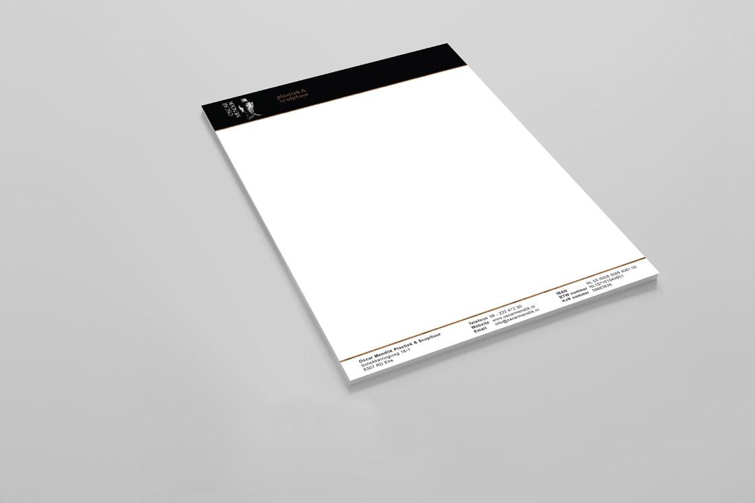 huisstijl-oscar-mendlik-briefpapier