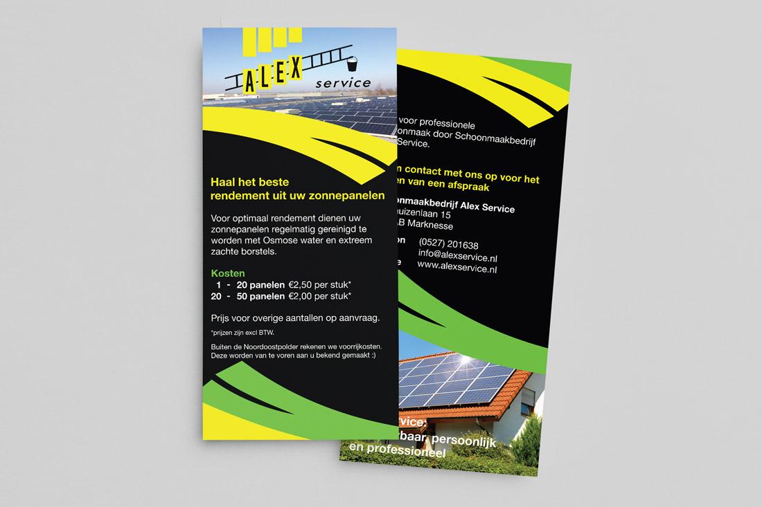 reclame-alexservice-flyer-zonnepanelen