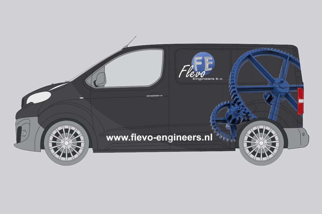 reclame-flevoengineers-autobestickering-1v2