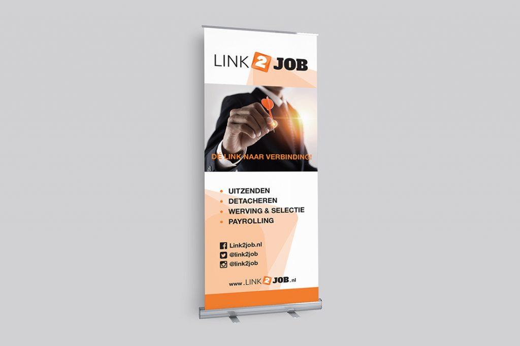 reclame-link2job-rolbanier