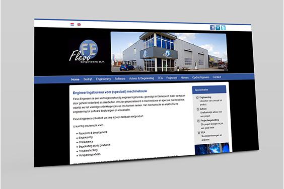 website-flevo-engineers-overzicht