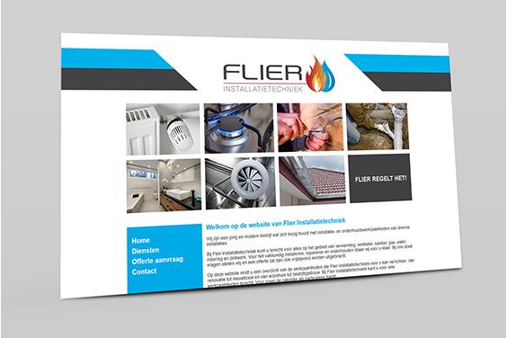 website-flier-installatietechniek-overzicht