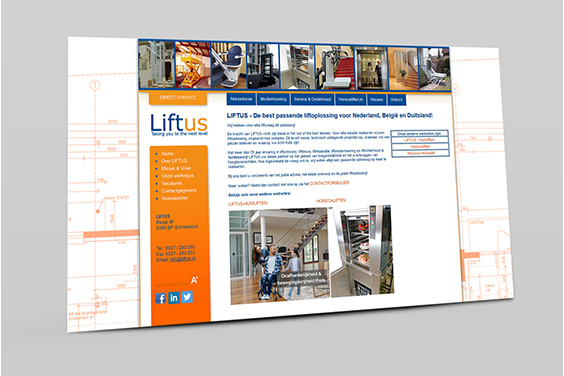 website-liftus-overzicht