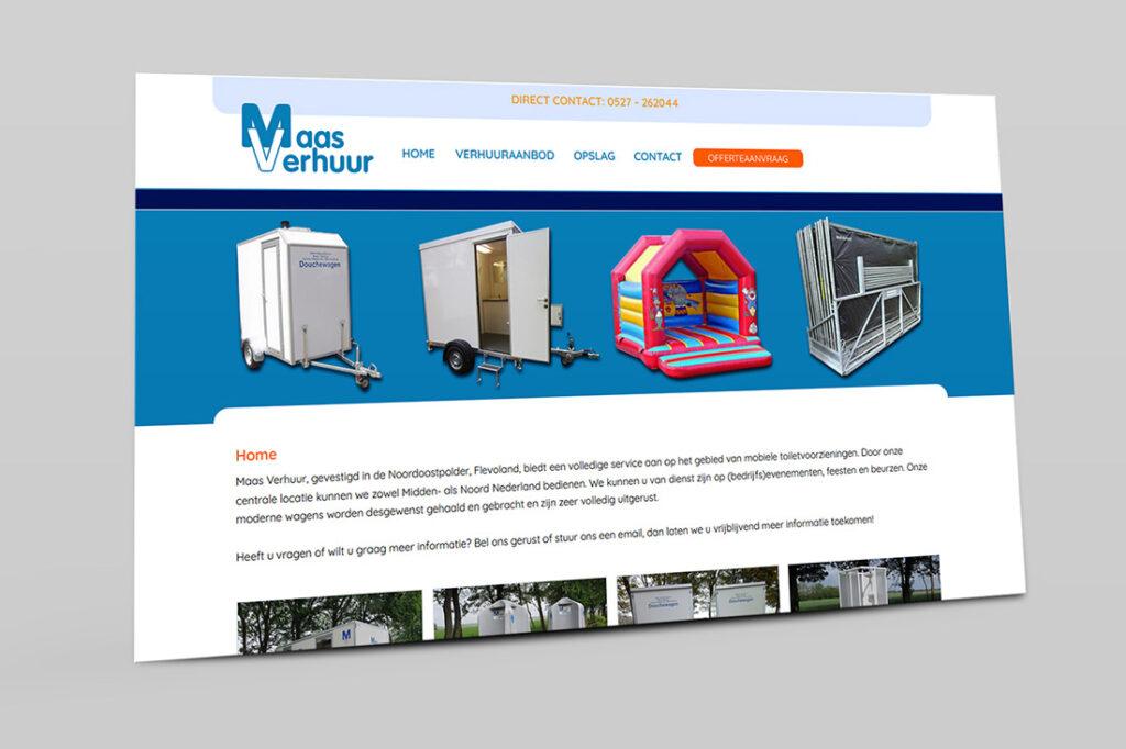 website-maas-verhuur
