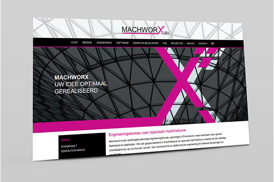 website-machworx-overzicht