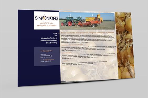 website-simonions-overzicht
