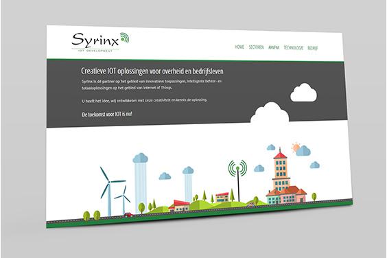 website-syrinx-iot-overzicht