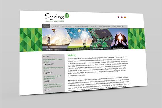 website-syrinx-overzicht
