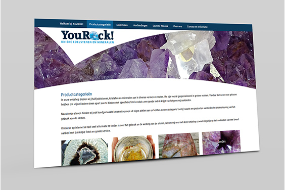 website-yourock-overzicht